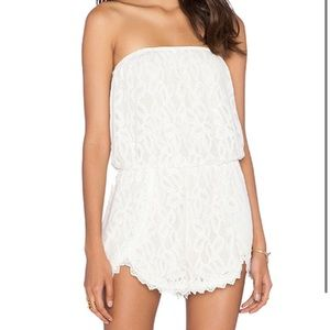 FRee people xs lace romper